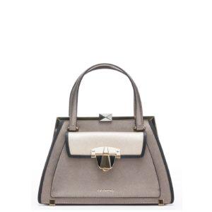 купить среднюю сумку Cromia 1403948 серая
