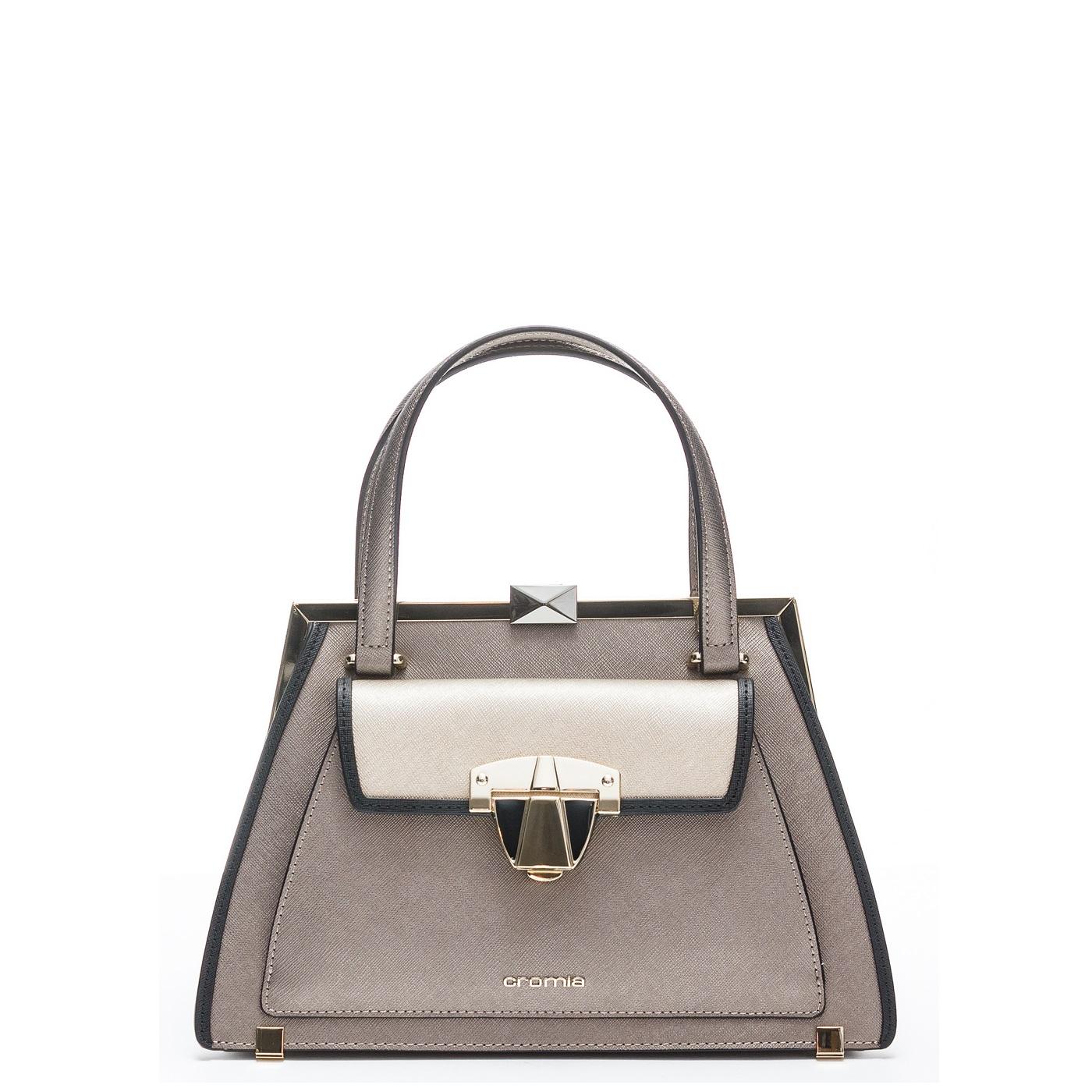 aecff07c0d2e Купить среднюю сумку Cromia 1403948 серую - низкая цена, доставка