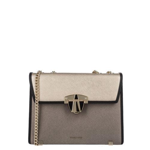 Купить женскую сумку через плечо Cromia 1403950 acciaio - низкая цена, доставка