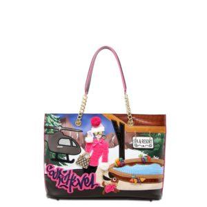 купить женскую сумку Braccialini B12403 мультиколор