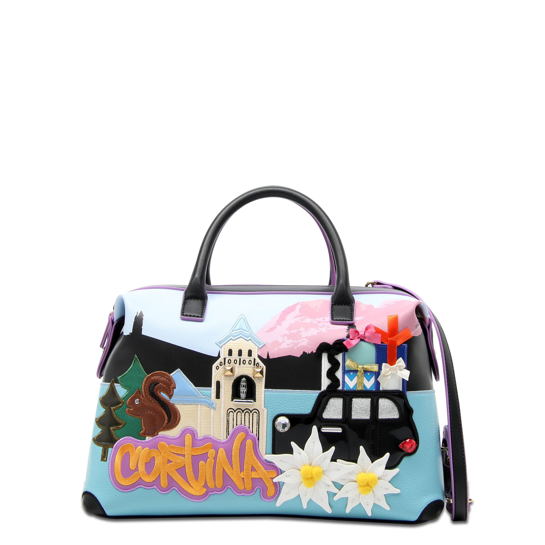 048ed920818d Средняя сумка Braccialini B12404 мультиколор - цена 17800 руб, купить