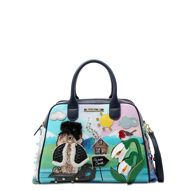 cd53eec8b58e Средняя сумка Braccialini B12421 мультиколор - цена 22900 руб, купить