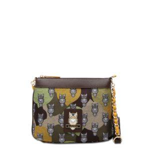 купить женскую сумку Braccialini B12705 зеленая