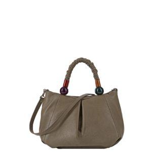 купить женскую сумку Roberta Gandolfi 7130 серо-бежевая