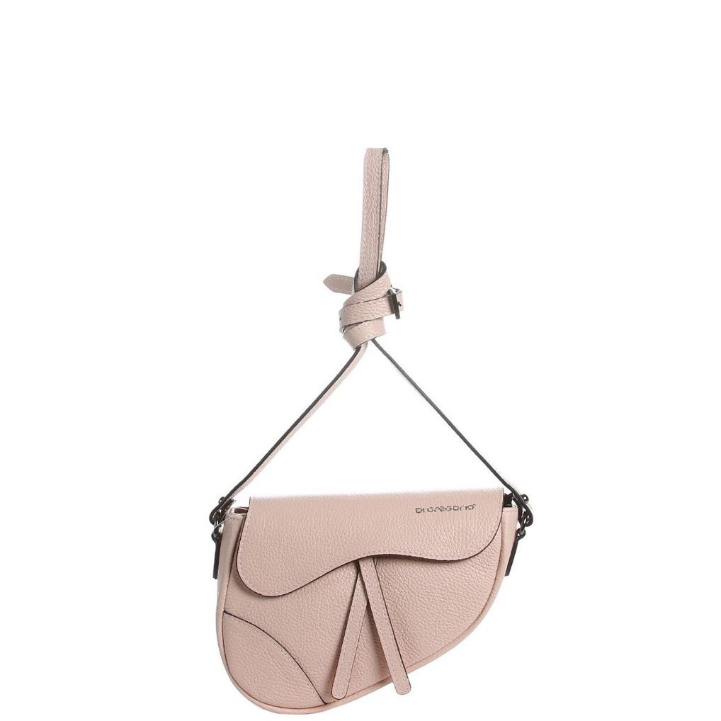 d0f7e4bc9917 Купить среднюю сумку DI Gregorio 7633392 розовую - цена 7500 руб, купить